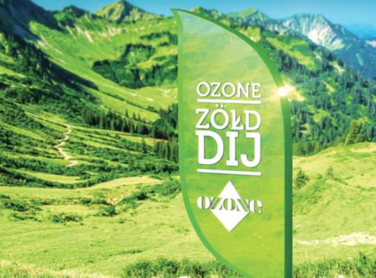 Ozone Zöld-Díj 2018 pályázati felhívás